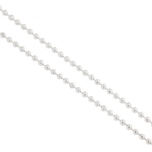 photo of a silver chain