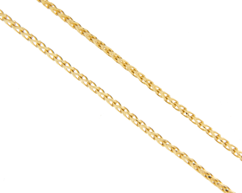 photo of a gold chain