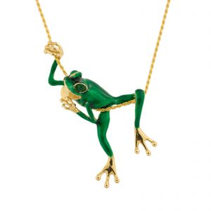 large frog pendant by slack