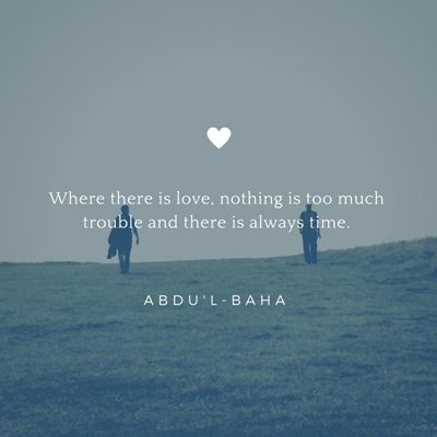 Valentines Day Quote 2 Abdu'l-Baha