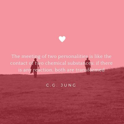 Valentines Day Quote C.C. Jung