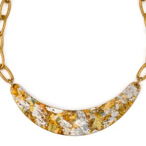 confetti boomer necklace by evocateur