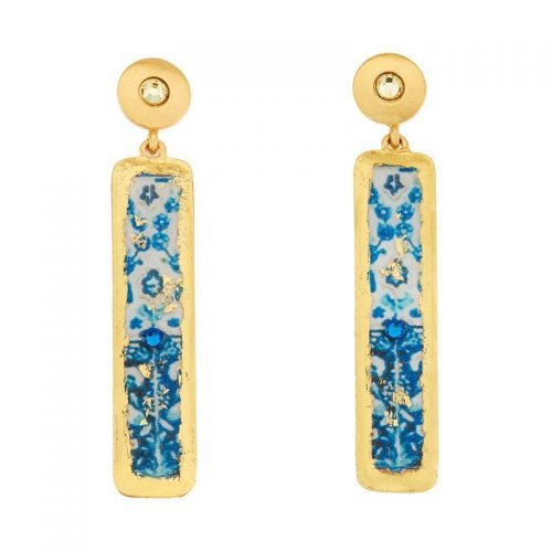 lisbon column earrings by evocateur