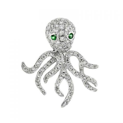 Diamond & Emerald Octopus