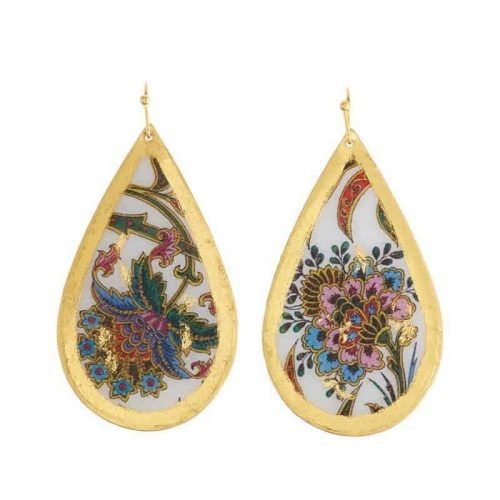 Isabella Teardrop Earrings by Evocateur