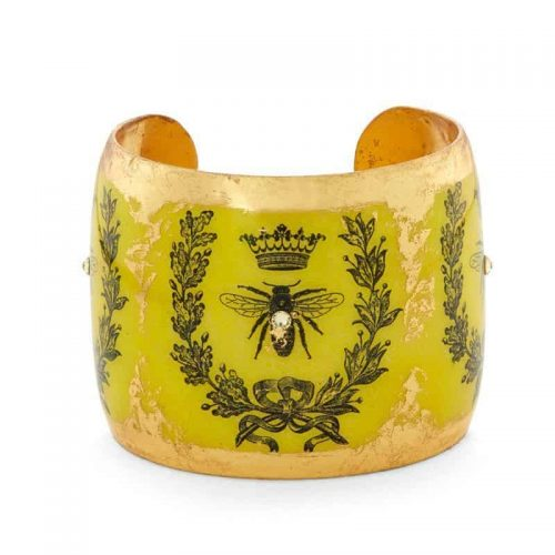 Queen Bee Cuff by Evocateur