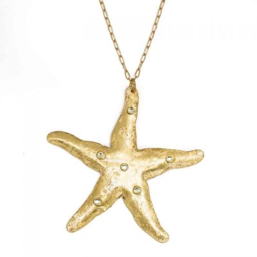 Starfish Necklace by Evocateur