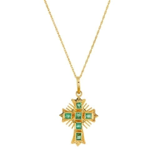 Small Cross Pendant on a chain.
